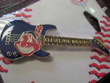 Cleveland Indians Pin-Guitar