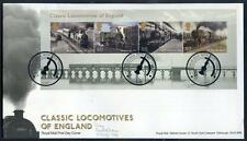 Great Britain Classis English Locomotives sheet on fdc  (2014/11/30/#09)