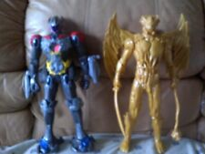 Power Rangers Megazord & Goldar 17-inch Movie Action Figures Lot Loose