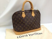 Authentic Louis Vuitton Monogram Alma Hand Bag Brown 7H250010#