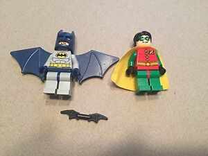 LEGO Batman and Robin Minifig Minifigure Super Heroes