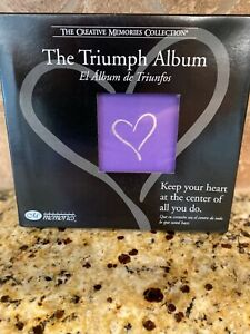 Creative Memories 7x7 Triumph Album with 12 Pages and Page Protectors NIB