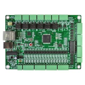 6 Axis Mach3 Controller Board CNC Motion Controller Support USB + Ethernet tps