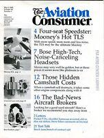 The Aviation Consumer Magazine May 1 1990 EX No ML FAA Library 102016jhe