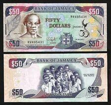 P 84 C Lot 2 Pc 100 Dollars 2007 Unc Jamaica