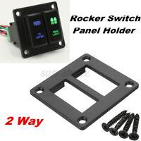 2 Gang Push Button Switch Panel Holder For Toyota Landcruiser Prado FJ  /