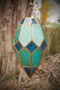 Morrocan style dragon egg lantern - large