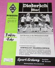 Fohlenecho Borussia Mönchengladbach - Eintracht Braunschweig  03.06.1972