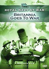Royal Navy at War - Britannia Goes to War (New DVD) World War 2 River Plate