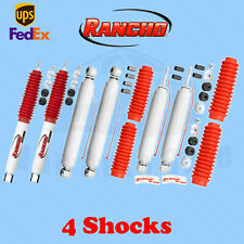Rancho Front&Rear Shocks for Ford F-150 w/Quad 4WD 1980-1996 Kit 6