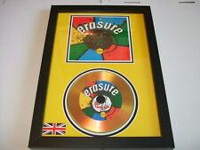 ERASURE  SIGNED  GOLD CD  DISC 3