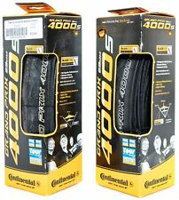 Continental Grand Prix 4000s Clincher Road Bike Tires 700 x 23 Black 1 PAIR Race
