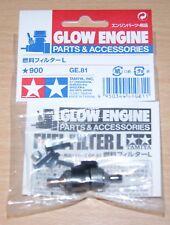Filtro de combustible Tamiya 41081 grande (TGX/TNX/TGS/TG10/TGR/TNS/TR-15T/nitrage), nuevo en paquete