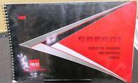 1993 Gmc Safari Van Electrical Diagrams Service Manual Ebay