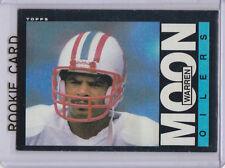 WARREN MOON ROOKIE CARD Houston Oliers 1985 VINTAGE FOOTBALL Topps NFL RC