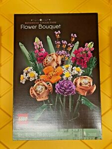 LEGO 10280 Flower Bouquet IN HAND TRUSTED SELLER FAST SHIPPING NEW