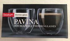 Red Dot Design BODUM Pavina Doppelwandige Gläser, 2 Stück à 0,08 l - M. Yamamoto