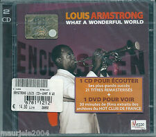 Louis Armstrong. What a Wonderful World (2004) CD+DVD NUOVO SEALED C'est si bon