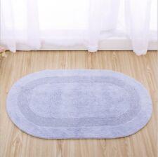 Mnd Totalmente Nuevo Estilo 100/% algodón con pelo insertado Azul Huevo De Pato seco y libre de deslizamiento estera del piso