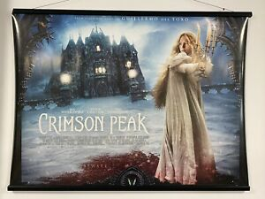 Crimson Peak (a), Double Sided Original UK Quad Sheet Movie Poster