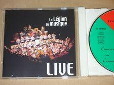 CD / LA LEGION EN MUSIQUE / LIVE AU COMOEDIA D'AUBAGNE 2000 / TRES BON ETAT