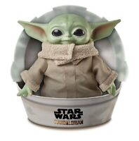 Star Wars Mandalorian The Child 11 inch Plush Toy Doll Baby Yoda - In Hand -