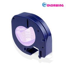 91331 91330 16952 Label Tape Compatible Dymo label maker letratag 12mm 4m colour