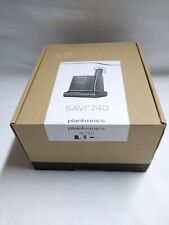 NEW Plantronics Savi W740 Convertible 3in1 Mono Wireless DECT Headset 83542-01