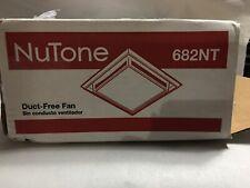 Nutone 682Nt Duct-Free Bathroom Ventilation Fan New Open Box