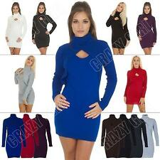 Hip Length Patternless Petite Jumpers & Cardigans for Women