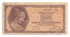 Greece 100 Billion Drachmas 1944, P-135