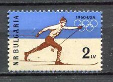 33440) BULGARIA 1960 MNH** Winter Olympics, Squaw Valley 1v