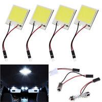 48 SMD COB LED T10 BA9S 4W 12V White Light Car Interior Panel Lights Dome UK