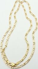 Heavy 23.75 inch long 9ct yellow gold hallmarked chain necklace Weighs 11.7 gram
