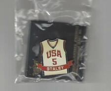 DAWN STALEY USA OLYMPIC BASKETBALL PIN * RARE * NEW ORIGINAL PKG WNBA UVA