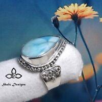 Gemstone Trendy Women 925 Silver Engagement Wedding Party Gift Ring Sz5-11