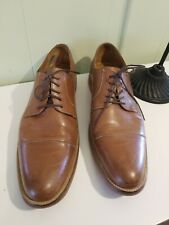 1901 Nordstrom Mens Brown Leather Wing Tip  Classic Dress Shoes Sz 14