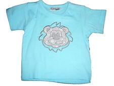 NEU Ergee süßes T-Shirt Gr. 62 hellblau mit Löwen Applikation !!