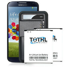 2x 4000mAh Extended Slim Battery + Portable Charger F Samsung Galaxy S4 SCH-i545
