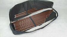 Kaval Flöte -Set+Tasche 13 st. (Hirtenflöte)