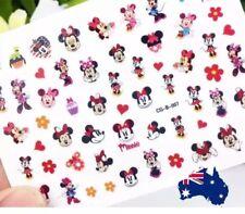140 x Hello kitty Minnie mouse Kid Nail Art Stickers