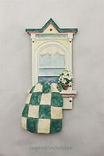 "BRIAN BAKER SUMMER BREEZE ""GRANDMA'S QUILT (GREEN)"" MODEL 3301 HAND SIGNED"