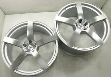 TSW PANORAMA 22 x 9.0/11 SILVER RIMS WHEELS BMW X5 E53 E70 +20/+25