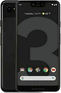 Google Pixel 3a XL - 64GB - Just Black (Unlocked) Smartphone