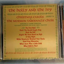 Mormon Tabernacle - The Holly And The Ivy - NM vintage 1960 Christmas vinyl LP