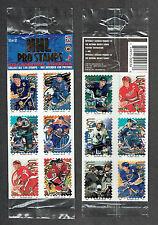 1996 NHL Pro Stamps, Panel #12, Gretzky, Yzerman, Sundin, Hull, Lindros...