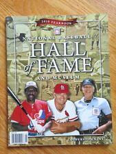 2010 Hall of Fame Baseball Yearbook ANDRE DAWSON WHITEY HERZOG DOUG HARVEY