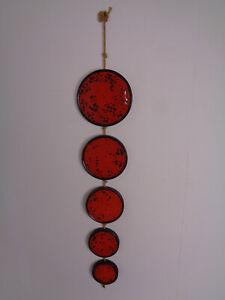 Ceramano Granat Ceramic Wall Hanging by Hans Welling 1960s