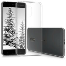 kwmobile Crystal Case für Nokia 6 TPU Silikon Schutz Hülle Cover Bumper Handy