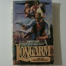 Longarm Ser.: The Crooked Marshall by Tabor Evans (1990, Paperback Novella)